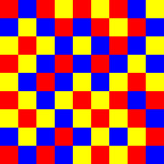 red-yellow-blue squaers