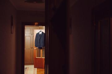 Suit on Door