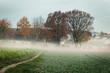 canvas print picture - Herbsttag erwacht