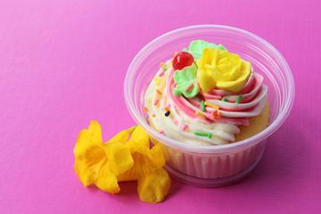 vanilla cup cake 2