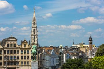 Mount of the Arts in Brussels, Belgium.