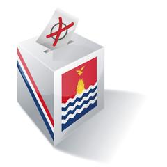 Wahlbox Kiribati