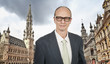 Senior Business Man at Grand Place, Brussels
