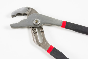 Closeup pliers isolate