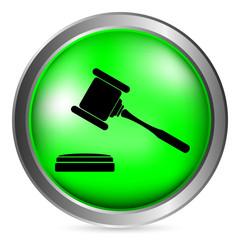 Judge gavel button
