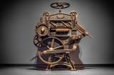 Antique printing press - 74532304
