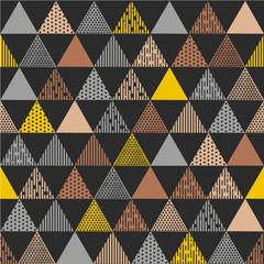 Dark grey triangle textured pattern