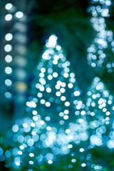 Abstract light glowing decoration Christmas