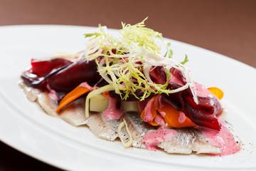 Herring Salat