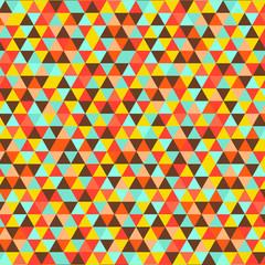 Muticolor triangle background