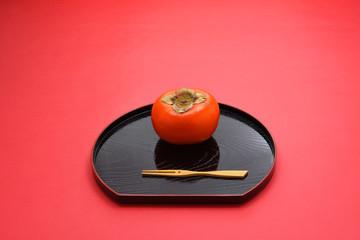 デザート 柿