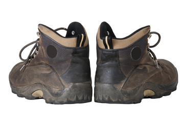 Old Climbing Boots