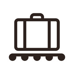 Baggage claim - travel icon