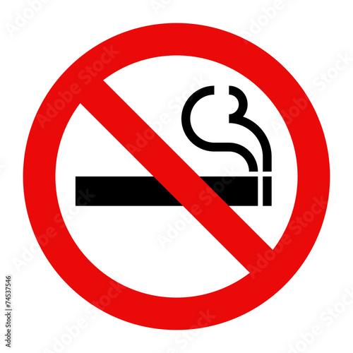 No smoking sign - 74537546