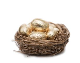 nid et oeuf en or
