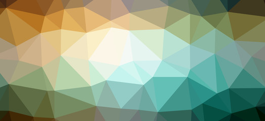 Triangle colour background pattern