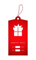 christmas price sticker