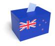 New Zealandian Flag Ballot Box