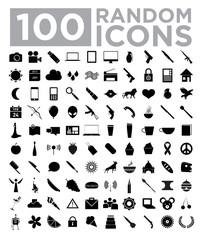 100 Random Icons