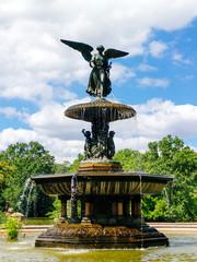 Bethesda Fountain in Central Park, Manhattan, New York City.