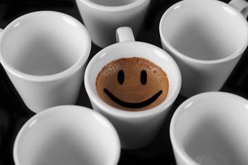Café sonriente