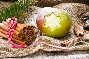 Weihnachtsapfel, Weihnachtsschmuck