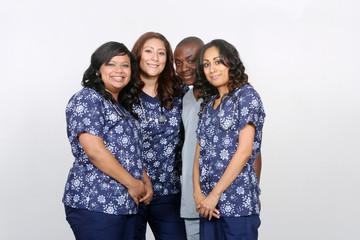 Multi Ethnic Health Care Professionals