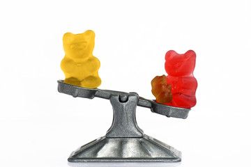 Gummy bear story serial: Mother role in a family