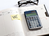 VAT, podatek, termin płatności, kalendarz