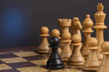Some Wooden Chessmen