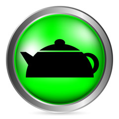Electric kettle button