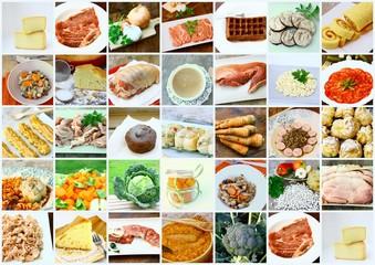 planche,composée sur l'alimentation