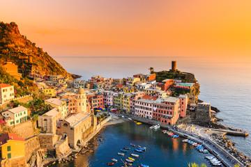 Vernazza village. Cinque Terre National Park, Italy.