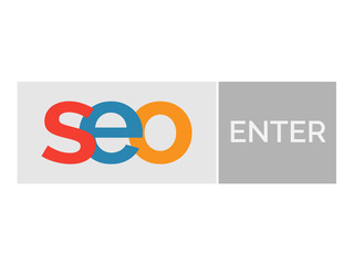 SEO word with enter button