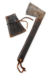 antique portable axe