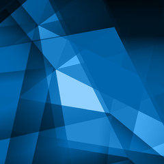 Abstract background, polygonal shapes