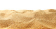 Leinwanddruck Bild - Sand dunes isolated on white background