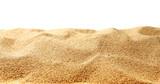 Sand dunes isolated on white background - 74546506