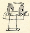 Estonian wooden saddle for woman (18 century)