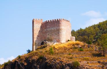 Castillo de Gaibiel in  summer day