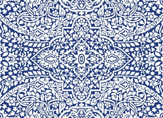 Blue Ornamental