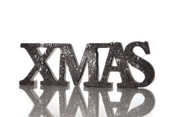Xmas Schriftzug zu Weihnachten