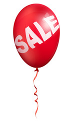 single red sale balloon