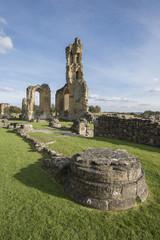 Byland Abbey, North Yorkshire, England