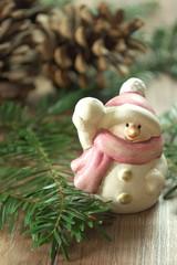 bałwanek świąteczny