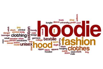 Hoodie word cloud