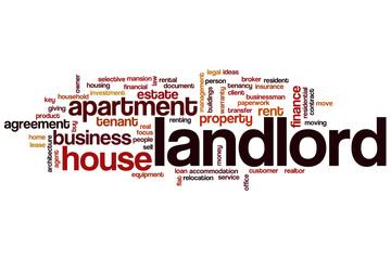 Landlord word cloud