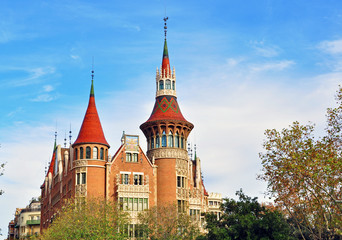 The Punxes house, Barcelona