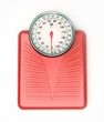 Weight scale red