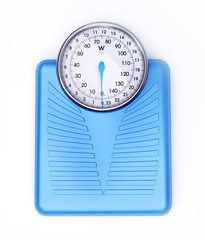 Weight scale blue